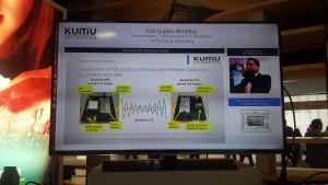 Kumu full duplex trial MWC2015