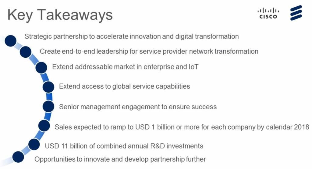Cisco Ericsson Seven
