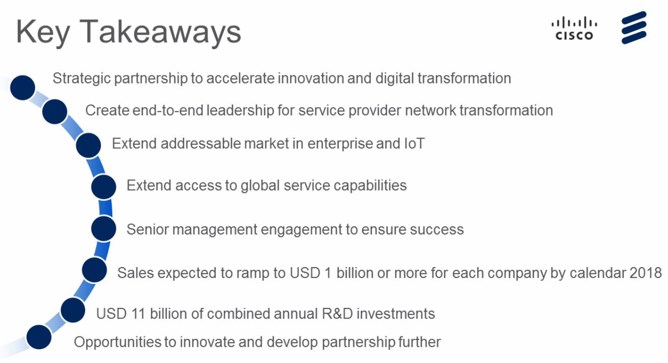 The Mobile Network » Ericsson Cisco collaboration, the ongoing questions
