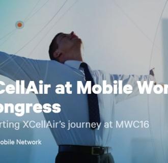 Mobile World Congress 2016 Resource Hub XCellAir