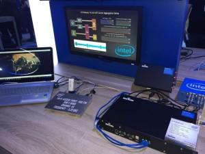 Baicells LAA cell on Intel booth