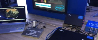 Baicells LAA cell on Intel booth