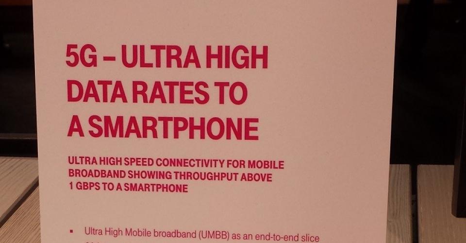 DT 5G demo UHDR