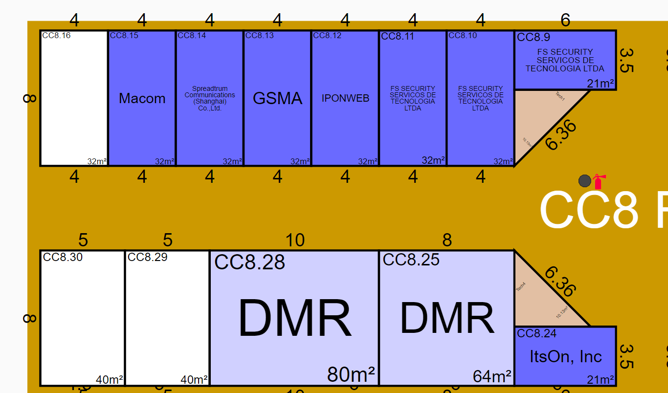 Meeting rooms in Hall 8.1