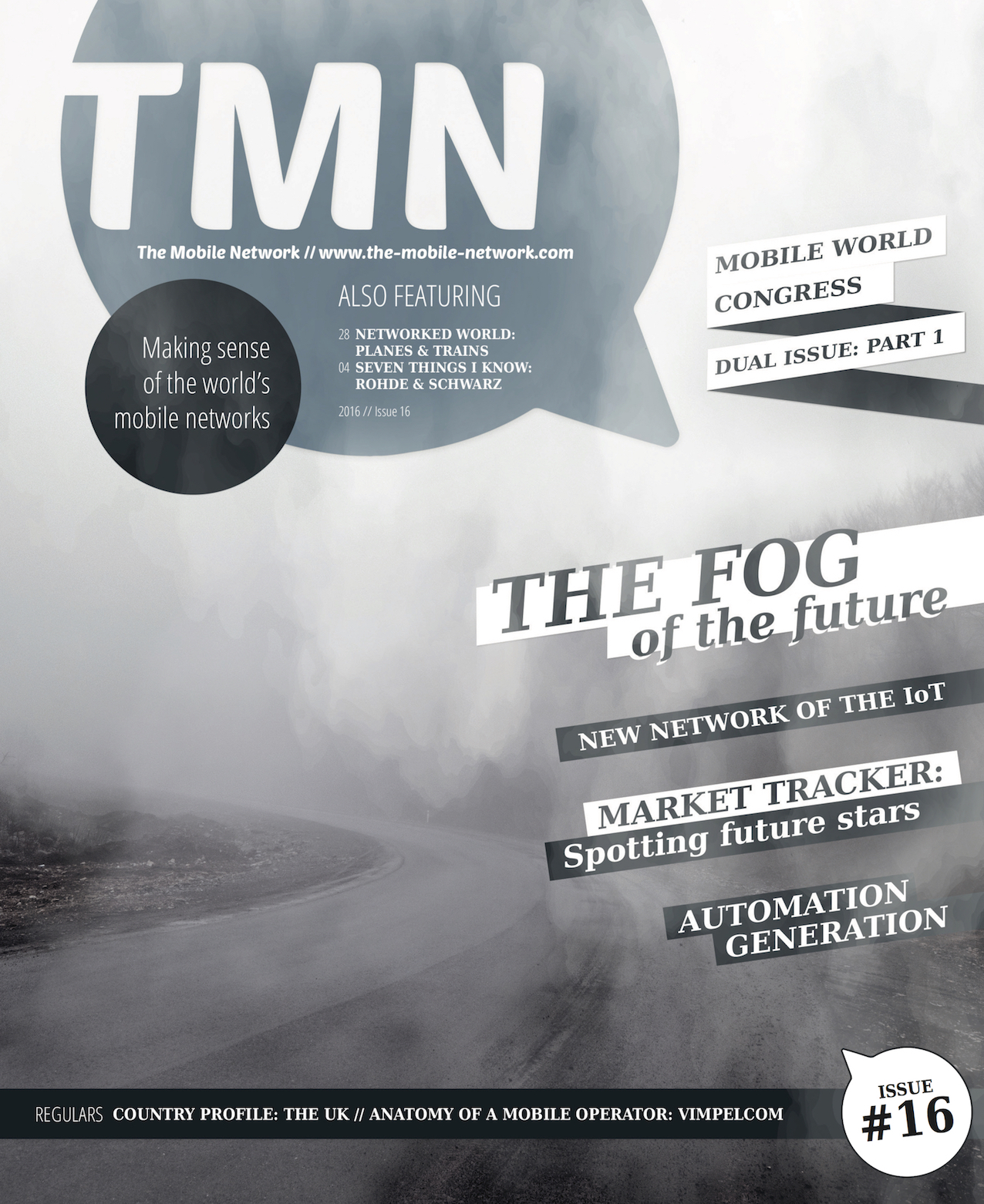 TMN Q Issue 16 Front cover