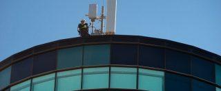 Vodafone 5G antenna manchester