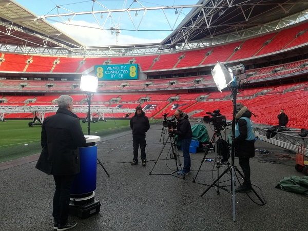 The Mobile Network » BT Sport takes 5G pitchside for live broadcast demo